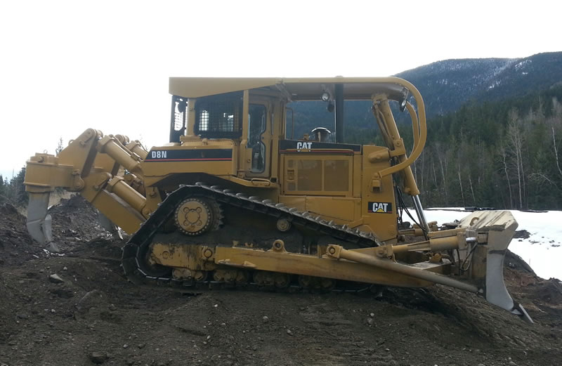 SCV Contractors Equipment - D8 Crawler Tractor